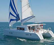Cat Lagoon 421 for rent in Lefkas