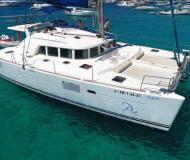 Cat Lagoon 440 available for charter in Sant Antoni de Portmany