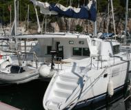 Catamaran Lagoon 440 available for charter in ACI Marina Trogir