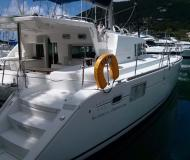 Catamaran Lagoon 440 available for charter in Clifton Harbour