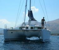 Cat Lagoon 440 available for charter in Marina Villa Igiea