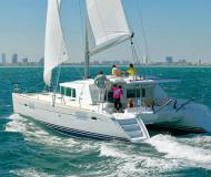 Catamaran Lagoon 440 available for charter in Salerno Marina