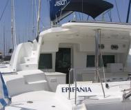 Cat Lagoon 440 for rent in Gouvia Marina