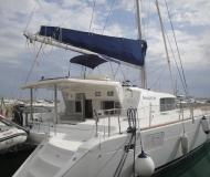 Catamaran Lagoon 440 available for charter in Marina di Arechi