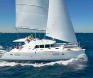 Cat Lagoon 440 for charter in Marina Veruda