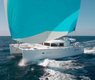 Catamaran Lagoon 450 for charter in Denia