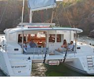 Cat Lagoon 450 available for charter in Marina San Antonio