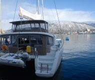Catamaran Lagoon 450 available for charter in Tromso