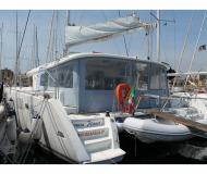 Catamaran Lagoon 450 available for charter in Marina di Portorosa