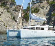 Cat Lagoon 450 available for charter in Marina di Portorosa
