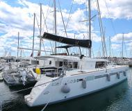 Cat Lagoon 450 available for charter in Marina Dalmacija