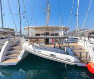 Cat Lagoon 450 F for rent in Lefkas