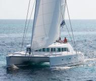 Catamaran Lagoon 500 for charter in Charlestown