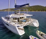 Cat Lagoon 52 for charter in Pylos