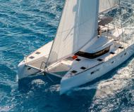 Catamaran Lagoon 52 available for charter in Milazzo