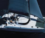 Cat Lavezzi 40 for hire in Marina Kornati