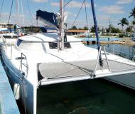 Cat Lavezzi 40 available for charter in Marina Cienfuegos