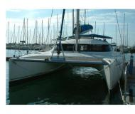 Cat Lavezzi 40 for charter in Marina Villa Igiea