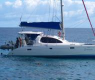 Cat Leopard 40 for charter in Eden Island Marina