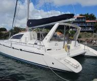 Cat Leopard 47 available for charter in Clifton Harbour