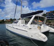 Katamaran Leopard 47 Yachtcharter in Clifton Harbour