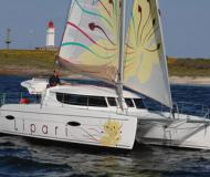 Cat Lipari 41 for charter in Charlotte Amalie