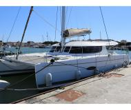 Cat Lipari 41 available for charter in Cogolin