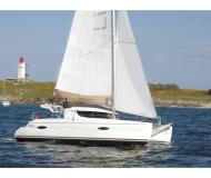 Catamaran Lipari 41 for hire in Marina Kastela