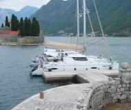 Kat Lipari 41 chartern in Tivat