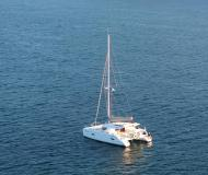 Cat Lipari 41 available for charter in Bar