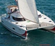 Katamaran Lipari 41 chartern in ACI Marina Dubrovnik