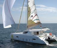 Cat Lipari 41 available for charter in Bodrum