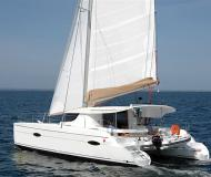 Cat Lipari 41 available for charter in Porto Montenegro