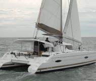 Cat Lipari 41 for hire in Marmaris