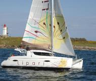 Cat Lipari 41 for hire in Les Marines de Cogolin