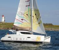 Cat Lipari 41 available for charter in Ajaccio