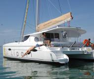 Catamaran Lipari 41 for charter in Propriano Marina