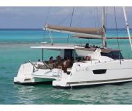 Katamaran Lucia 40 Yachtcharter in Marina Kastela