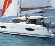 Katamaran Lucia 40 Yachtcharter in Marina Red Hook