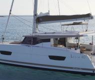 Kat Lucia 40 Yachtcharter in Marina Dalmacija