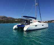 Kat Mahe 36 Yachtcharter in Portisco