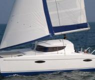Catamaran Mahe 36 available for charter in Les Marines de Cogolin