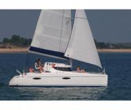 Catamaran Mahe 36 Evolution for charter in Airlie Beach