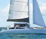 Catamaran Maine Cat 38 for charter in Hope Town