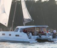 Catamaran Nautitech 40 available for charter in Yacht Haven Marina Phuket