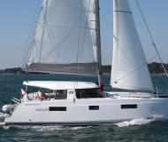 Catamaran Nautitech Open 40 for charter in Betina