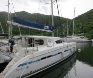 Catamaran Nautitech 441 available for charter in Marina Le Marin