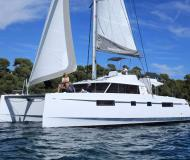 Cat Nautitech 46 Open Fly for rent in Rodney Bay Marina