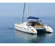 Catamaran Privilege 465 for hire in ACI Marina Trogir