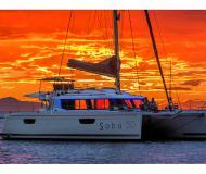 Katamaran Saba 50 chartern in Mykonos City